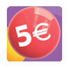 cinco euros bonus