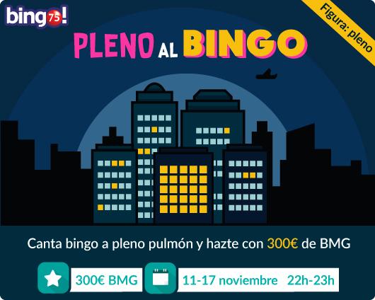 300€ de BMG en bingo 75