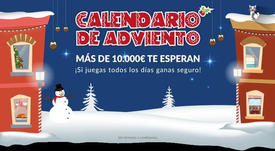 Calendario de Adviento, más de 10.000€ te esperan