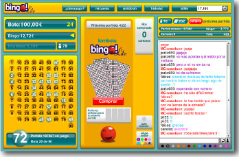 Cartón del juego más barato: bingo Lite
