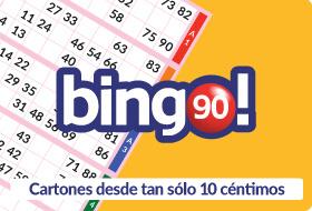 Juego de bingo 90