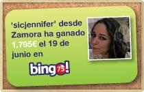 Ganadores de bingo