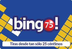 Bingo 75. Bingo americano clásico