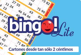Cartones más baratos en bingo Lite